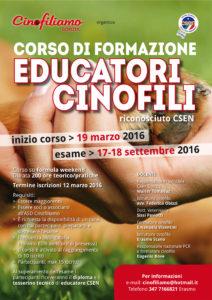 locandina CORSO EDUCATORI csen.indd